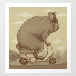 Adventure Ride Art Print