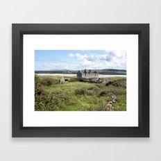 Omey Island Framed Art Print