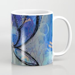 Abstract - Lotus flower - Intuitive Coffee Mug