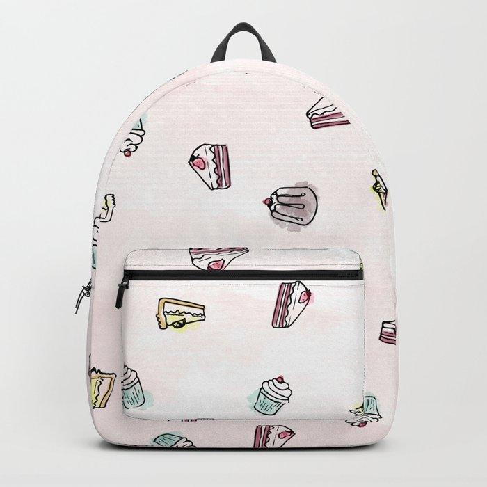 Desserts Rain Backpack