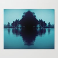finland Canvas Prints featuring Finland Mysteries by Onaaa