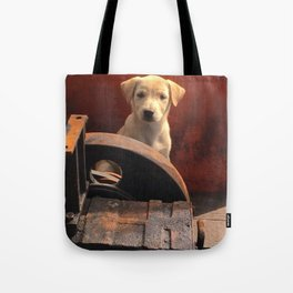 Junkyard stray Tote Bag