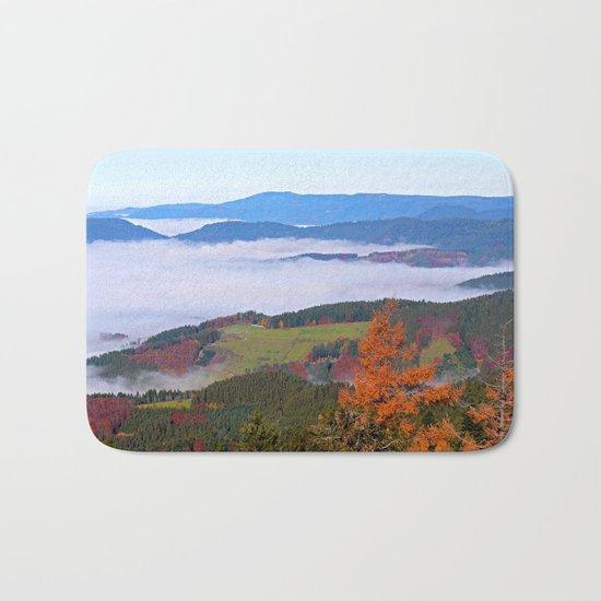 Misty Mountain Dreams Bath Mat