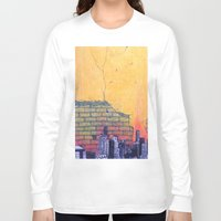 denver Long Sleeve T-shirts featuring denver by Saari Shelhart