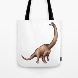 Realistic watercolor dinosaur Tote Bag