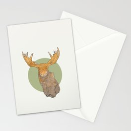 Canadian Moose Stationery Cards