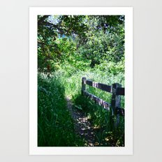 To Grandmother's House We Go Art Print