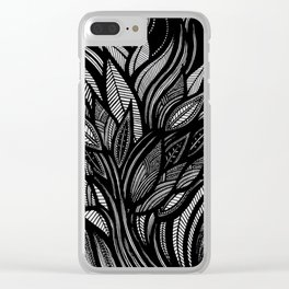 Whispering field Clear iPhone Case