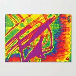 Psyde Swipe Canvas Print