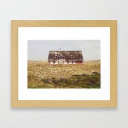 Danish house Framed Art Print