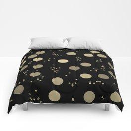 Night Rain In Moon Light - Retro Minimalism Comforters