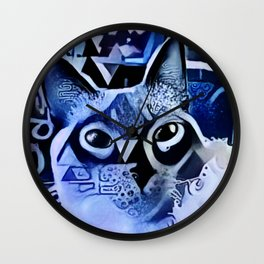 Night Magic Wall Clock