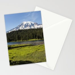 Mt Rainier from Reflection Lake, No. 1 Stationery Cards