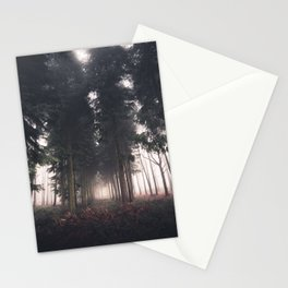 Forests Fog Stationery Cards