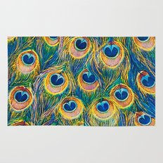 Peacock Freathers Rug