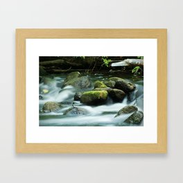 Although, I admit, I desire Framed Art Print