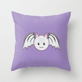 Going Batty Throw Pillow