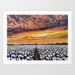 Delta Daydream Art Print