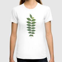 Green Leaf Botanical Print T-shirt