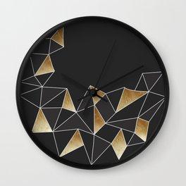 Crystal Moon Wall Clock