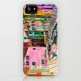 Venice Burano iPhone Case