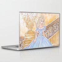 cinderella Laptop & iPad Skins featuring Cinderella by carotoki art and love