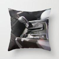 volkswagen Throw Pillows featuring Volkswagen Amarok Highline Cambio by Mauricio Santana