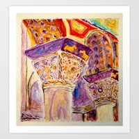 Corbu II Art Print