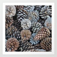 plant Art Prints featuring plant by kartalpaf
