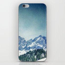 Snow Mountain V3 #society6 #buyart #decor iPhone Skin
