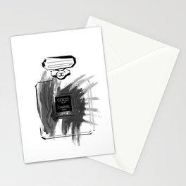 Black perfume #2 Stationery Cards