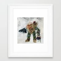 bubbles Framed Art Prints featuring Bubbles by Melissa Smith