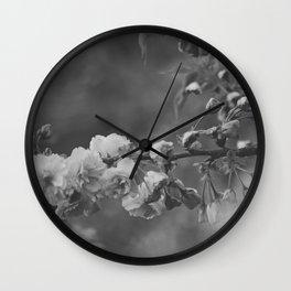 Sprung by Spring B+W Wall Clock