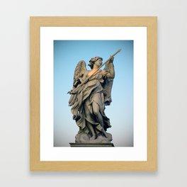 Sant'Angelo Statue 1 Framed Art Print