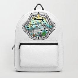 Shark Swim Backpack