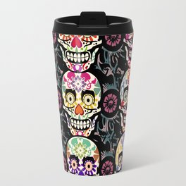 Happy calaveras Travel Mug