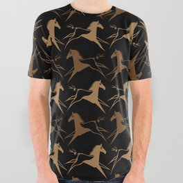 Horse Nation All Over Graphic Tee