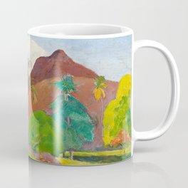 Tahitian Landscape by Paul Gauguin Coffee Mug