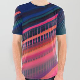 Color Wave ~011~ All Over Graphic Tee