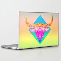 bull Laptop & iPad Skins featuring Bull  by Anders Teigene
