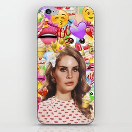 LANA DEL EMOJI iPhone Skin