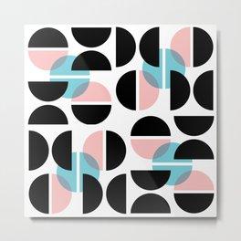 Audrey Geometric #1 Metal Print