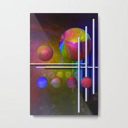 geometric decoration -3- Metal Print