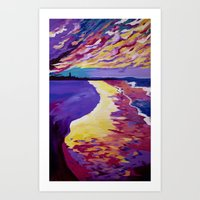 DNSW Series: The Bliss of Byron Bay Art Print