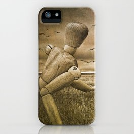 Christina's World Revisited iPhone Case