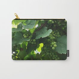 Green grapes Nature Design Carry-All Pouch