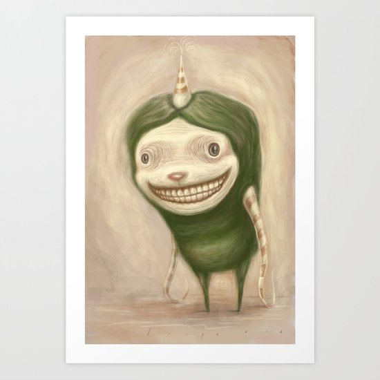 Smile No Matter What Art Print