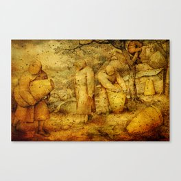 The Keeping of Bees Canvas Print