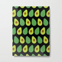 Avocado Garden Metal Print