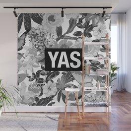 YAS B&W Wall Mural